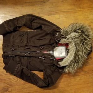 Abercrombie and finch winter coat